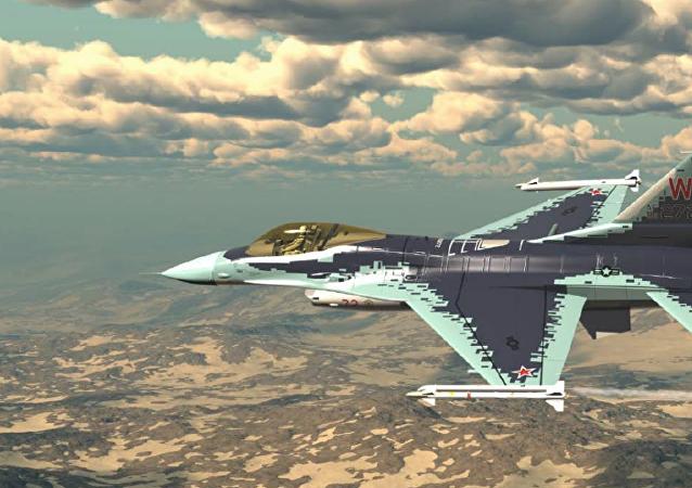 美國F-16戰鬥機