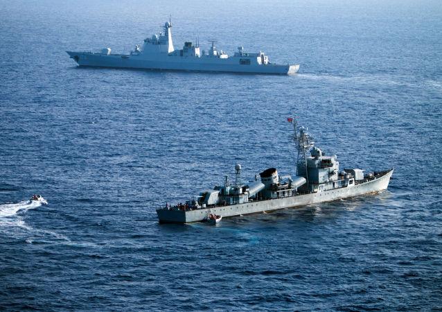 中國巡邏船駛入青森縣附近日本領海