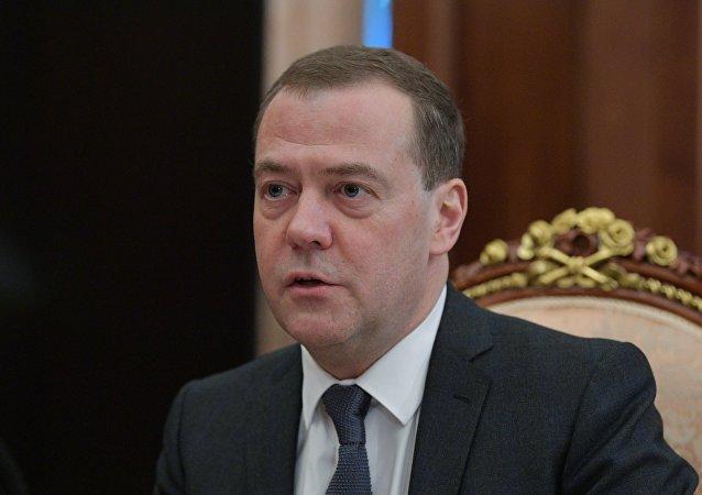 俄總理梅德韋傑夫
