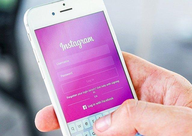 Социальная сеть Instagram.