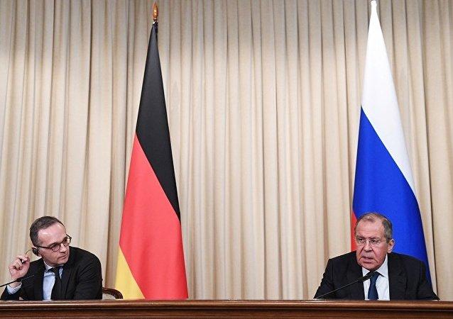 俄德兩國外長討論向敘利亞提供人道主義援助問題