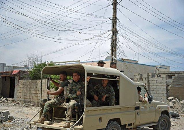 伊拉克「人民動員」民兵