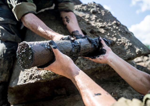 工程兵:俄羅斯每年發現至25萬枚二戰時期的地雷