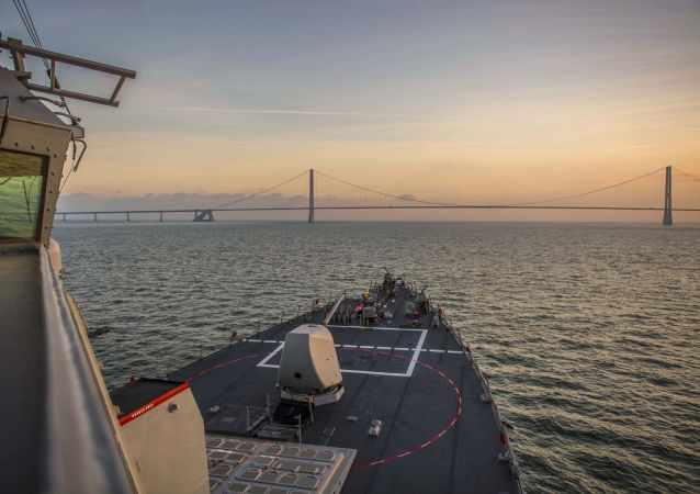 俄軍艦對進入波羅的海美軍驅逐艦進行跟蹤監視