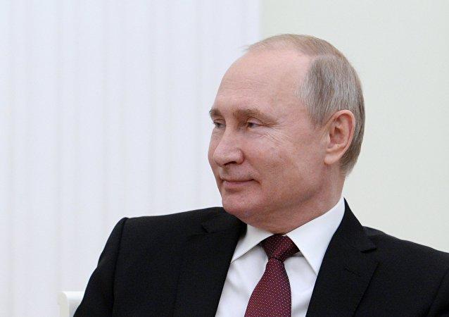 普京獲評1月份俄羅斯最具影響力政治人物