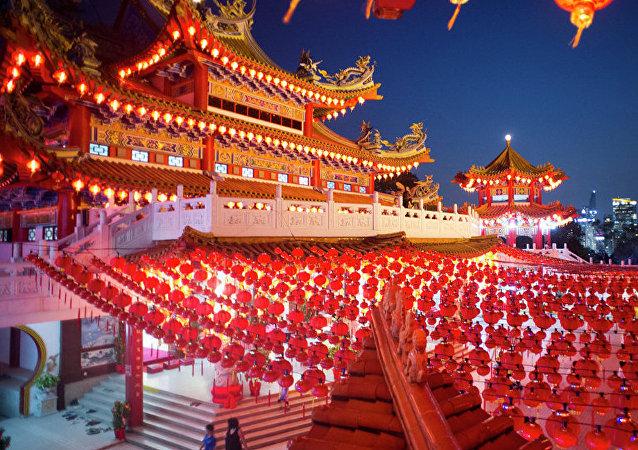 哈巴羅夫斯克舉辦中國春節音樂會 當地居民體驗中國文化