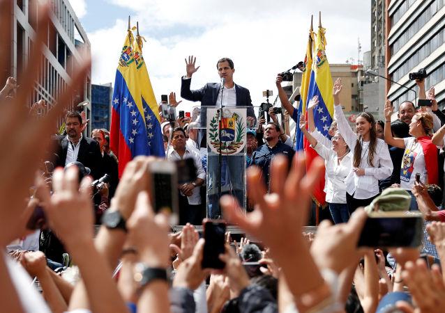 委內瑞拉反對派簽署一份2.13億美元旨在推翻馬杜羅的合同