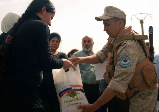 俄羅斯軍人在敘利亞