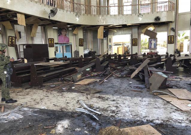 菲律賓霍洛市發生的爆炸襲擊
