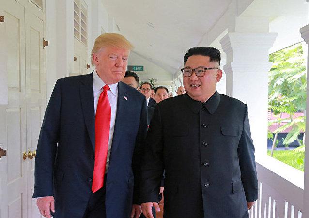 媒體:朝鮮領導人向特朗普提議在平壤舉行會談