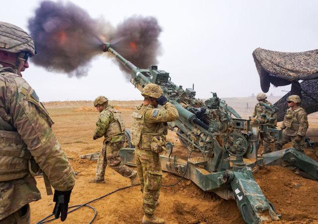 美軍在中東