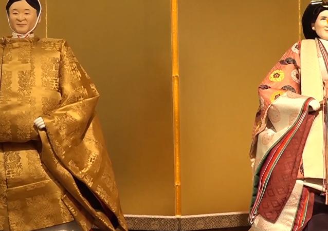 日本推出以皇太子德仁夫婦為原型的女兒節娃娃