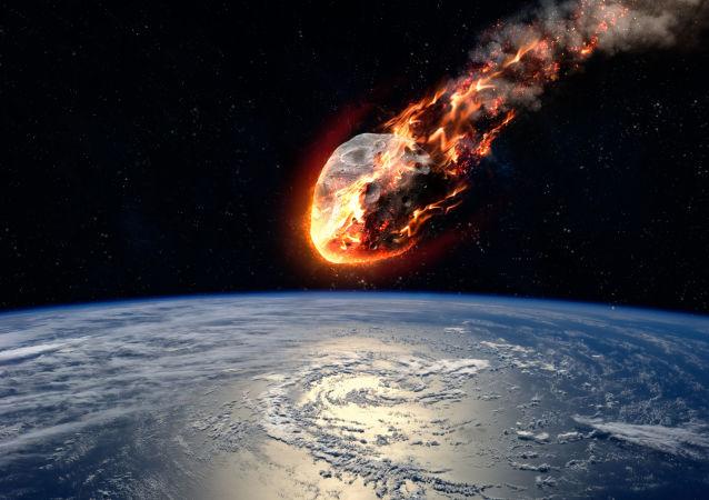 專家分析出一顆足球場大的小行星撞擊地球的概率