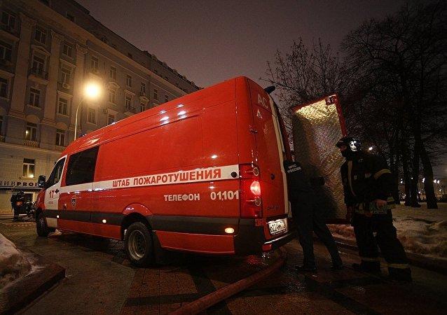 莫斯科 消防隊
