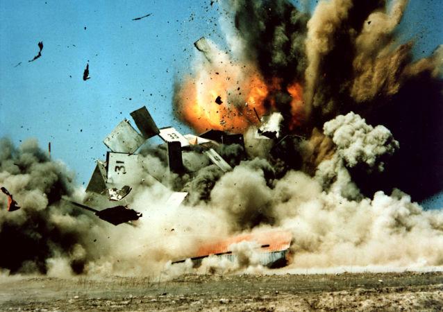 Испытания американской крылатой ракеты Томагавк