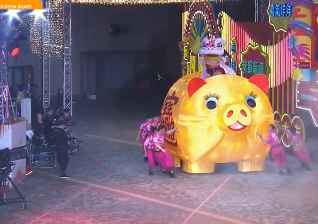 香港「新春國際匯演之夜」精彩上演