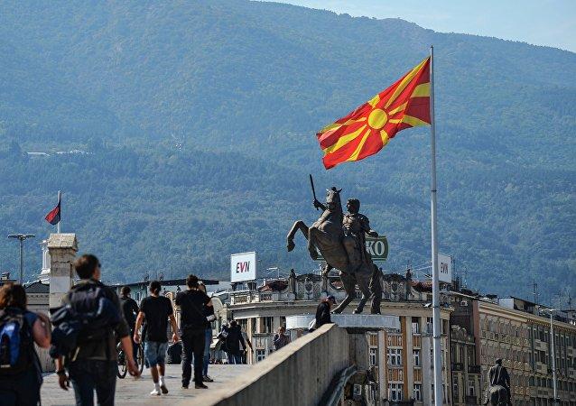 北馬其頓議會通過加入北約的協議