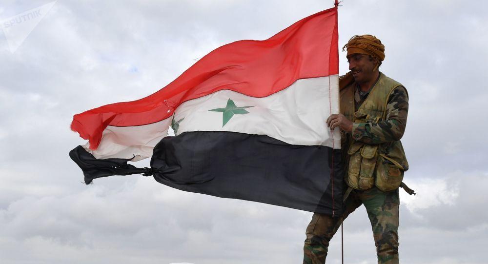 敘政府軍人