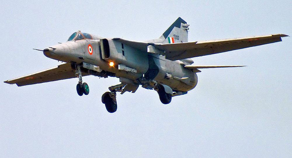 印度空軍的米格-27戰鬥機