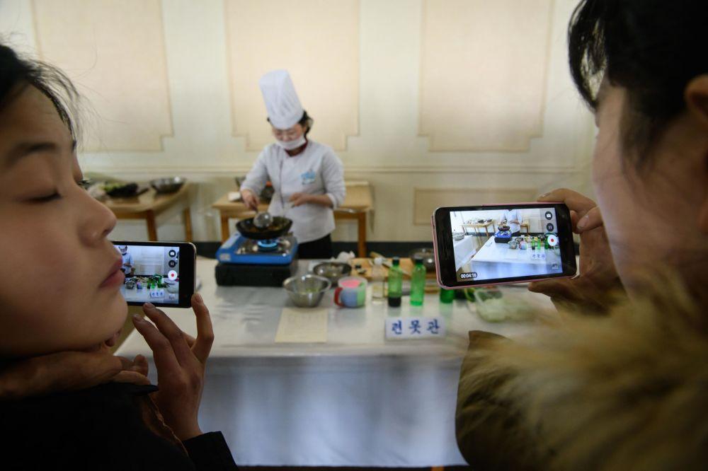 朝鮮的全國烹飪大賽