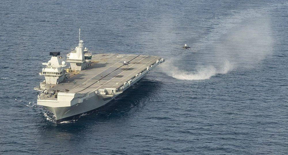 伊麗莎白女王號航空母艦