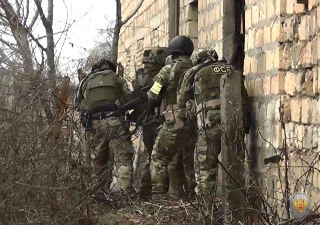 達吉斯坦消滅6名擬實施恐怖襲擊的匪徒