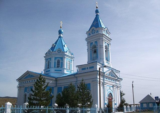 聖母安溪教堂(布里亞特共和國,恰克圖)