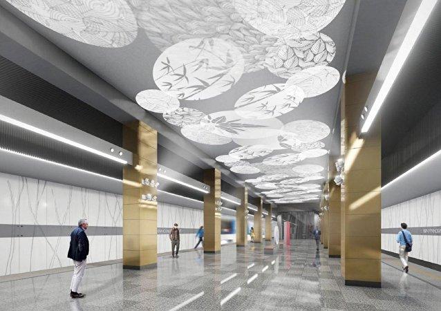 莫斯科將出現中國風格地鐵站