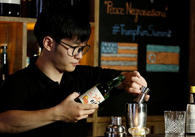 「金特會」前夕越南酒吧推出會談酒