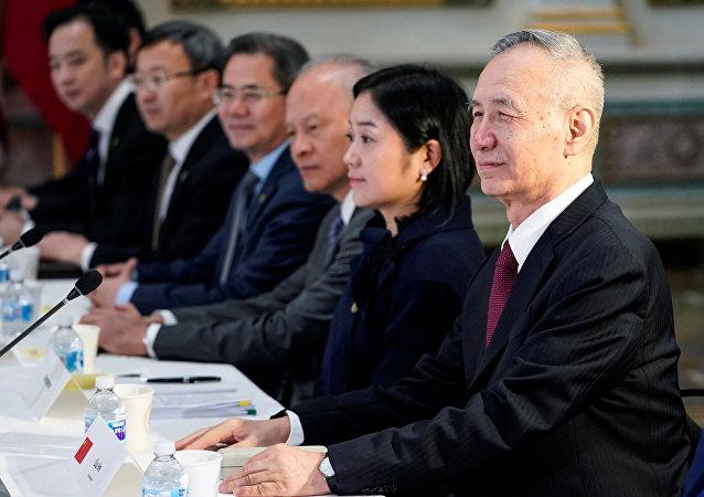 Торговые переговоры США и Китая