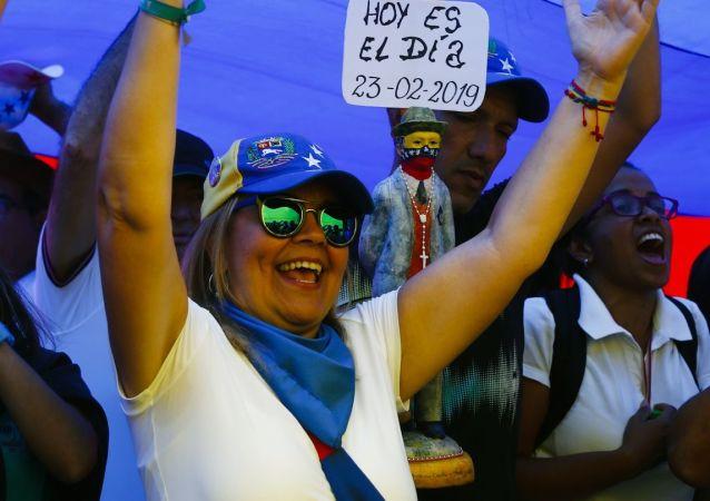 委內瑞拉警方:加拉加斯反對派遊行活動和平結束