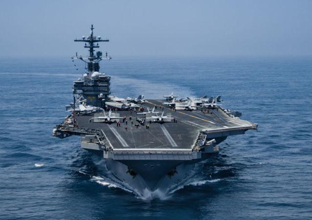 美國「喬治·H·W·布什號」航空母艦
