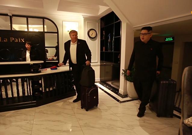 美朝峰會前夕金正恩模仿者被趕出越南