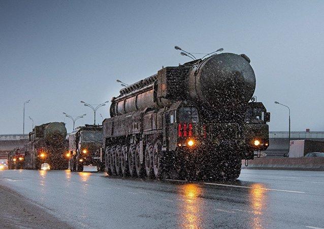 戰略導彈系統遇莫斯科早晨大堵車
