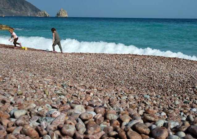 一名遊客在日本發現「外星石頭」