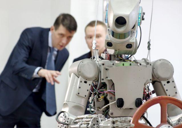 俄羅斯的 「費奧多爾」 機器人