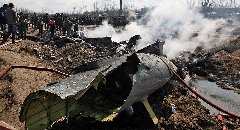 印度空軍一架直升機在該國北部墜毀已導致7人死亡