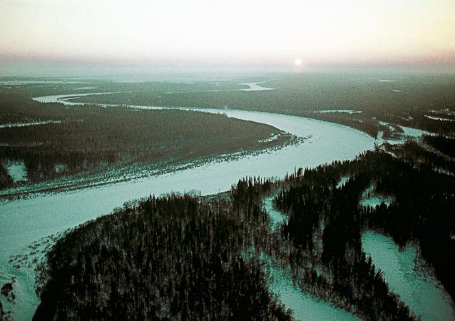 永久凍土的地區