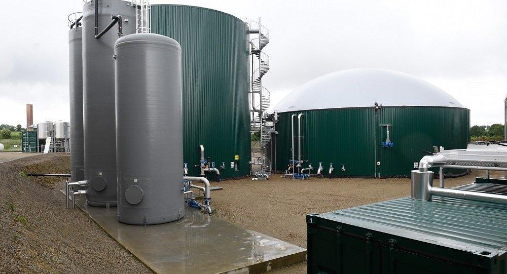 生物天然氣工廠(圖片資料)
