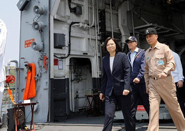 美國煽動台灣在中國大陸周邊製造「熱點」