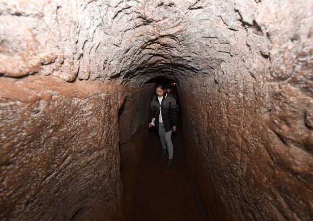 Сеть подземных туннелей, построенных во время войны во Вьетнаме
