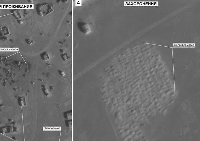 敘利亞魯克班難民營旁發現300個新墳