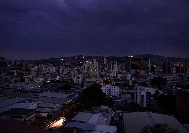 加拉加斯數個區再次發生斷電
