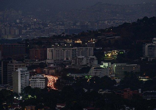 委內瑞拉首都使館區發生斷電