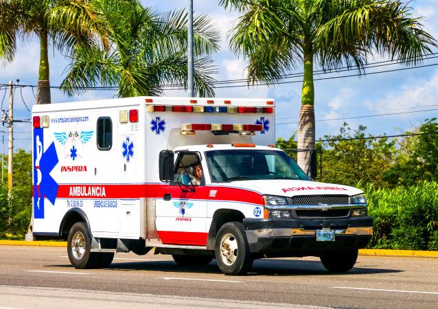 Автомобиль скорой помощи в Мексике