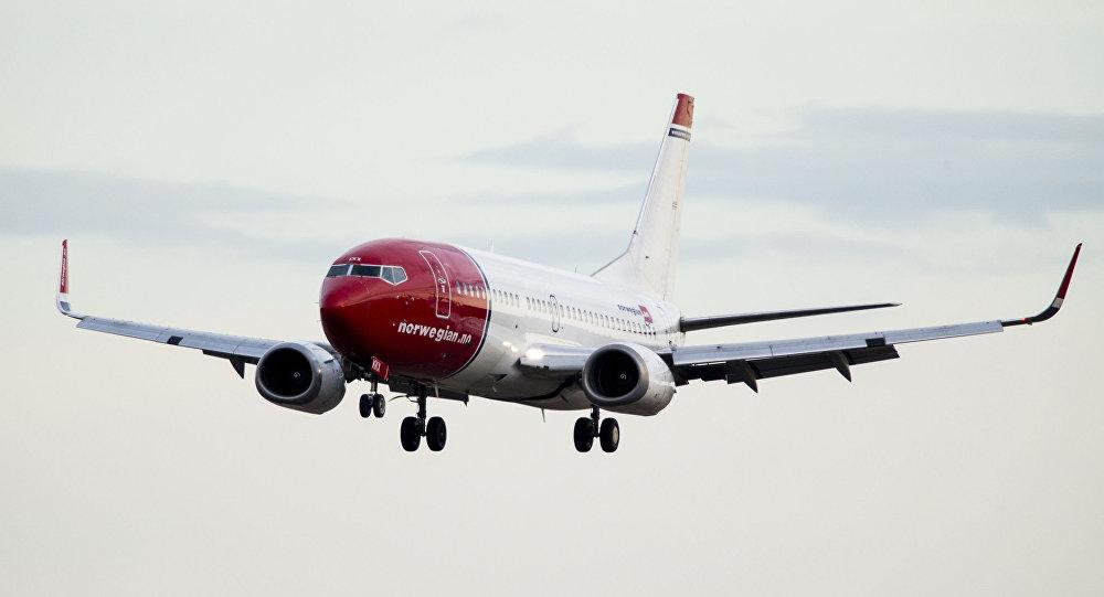 挪威航空的波音737 MAX客機返回斯德哥爾摩