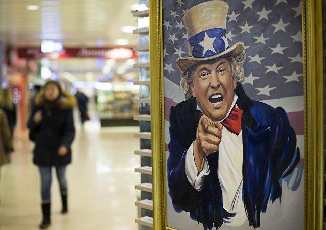 外媒:貿易戰源於特朗普對經濟的無知