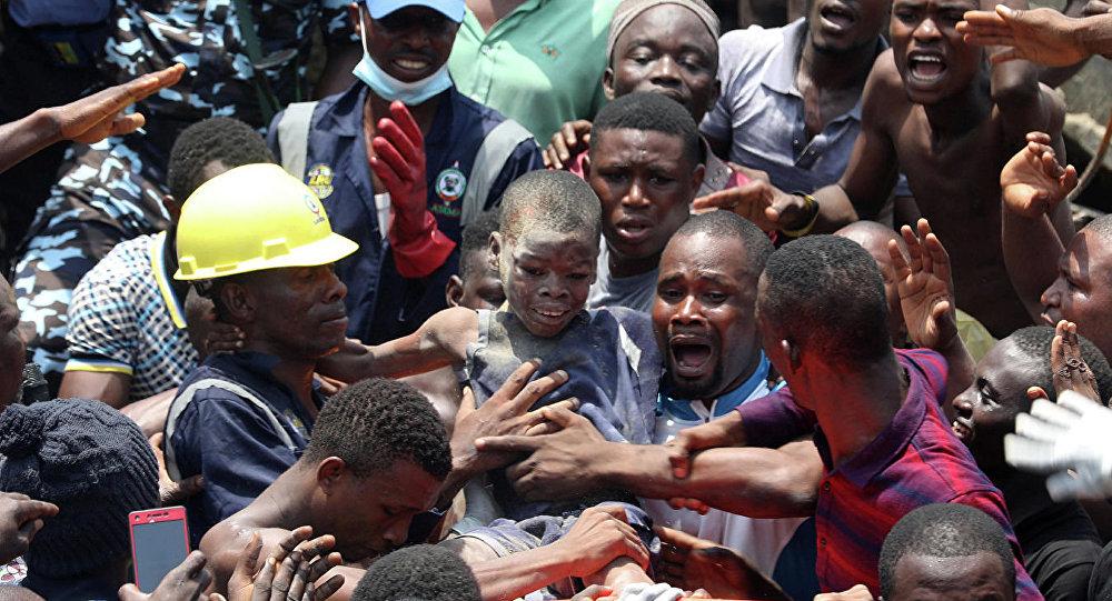 尼日利亞校舍垮塌  5名學生遇難