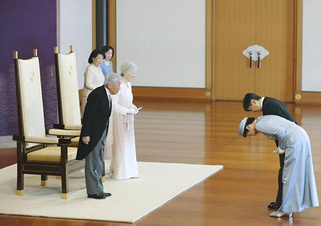 日本駐俄大使館:日本邀請普京參加10月新天皇即位儀式