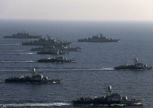 伊朗海軍演習